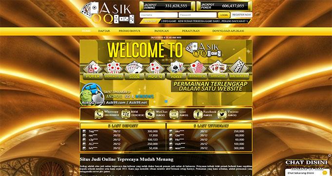 AsikQQ Situs PokerQQ Online Terkenal
