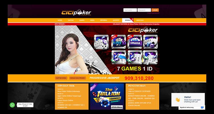Cicipoker Situs IDN Poker Terbesar