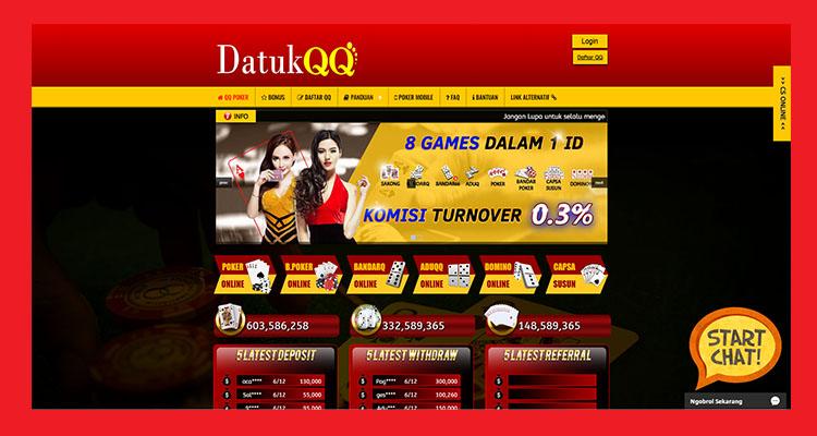 DatukQQ Situs PokerQQ Online Terbaik